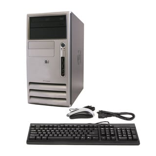 HP DX7300 Core 2 Duo 2.4GHz 2048MB 250GB DVD Windows 7 Home Premium Microtower Computer (Refurbished)