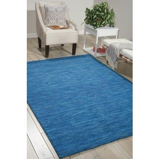 Waverly Grand Suite by Nourison Ocean Wool Area Rug (8' x 10'6)