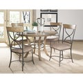 Charleston 5-piece Desert Tan Dining Set