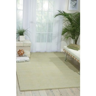 Waverly Grand Suite by Nourison Mist Wool Area Rug (8' x 10'6)