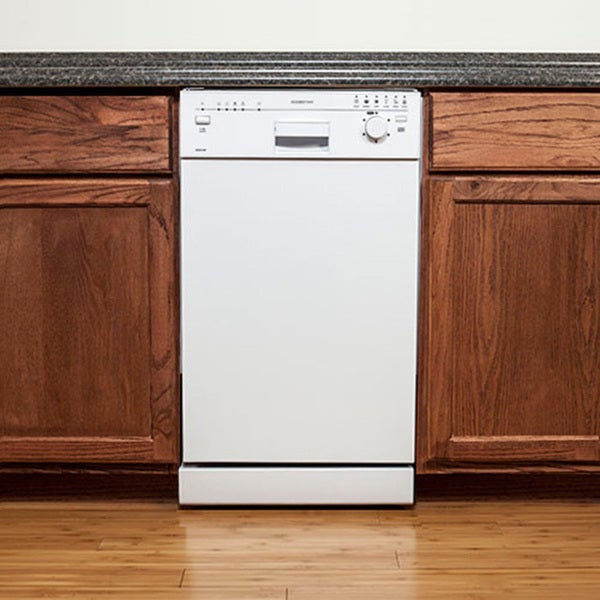 Edgestar White 18 Inch Built In Dishwasher 16145727