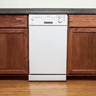 EdgeStar White 18-inch Built-in Dishwasher