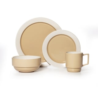 Pfaltzgraff 'Hudson Tan' 16-piece Dinnerware Set
