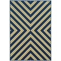 Indoor/ Outdoor Geometric Polypropylene Rug (5'3 x 7'6)