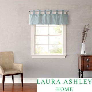 Laura Ashley Abbott Blue-green Check-print Window Valence