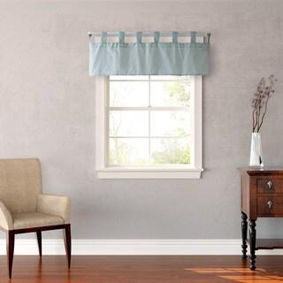 Laura Ashley Abbott Blue-green Check-print Window Valence