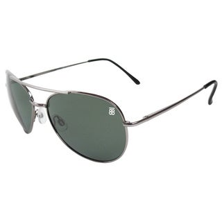 BTB Sport Optic Gunmetal Aviator Sunglasses