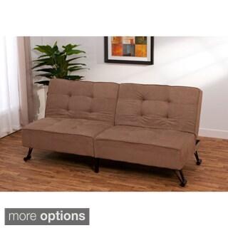 Metropolitan Click-clack Convertible Foldable Futon Sofa Sleeper Bed