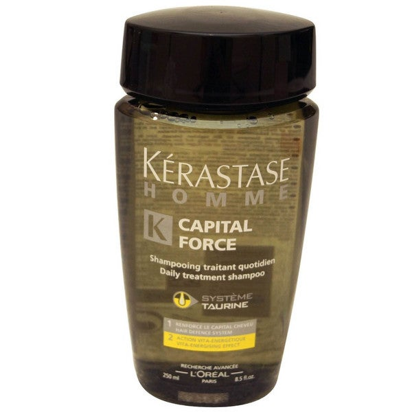 Kerastase Homme Capital Force Energising 8.5-ounce Shampoo