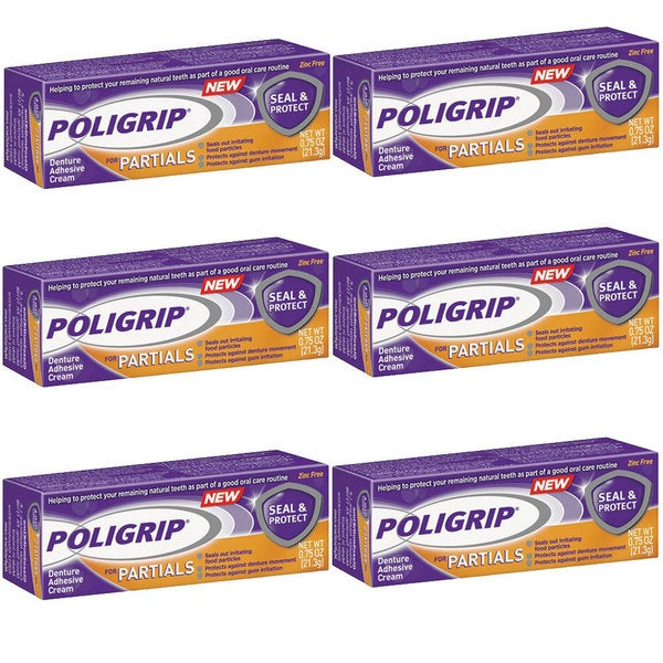 Super poligrip extra strength denture adhesive powder 1 60 oz
