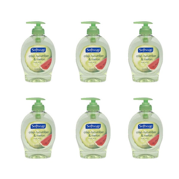 Softsoap Elements Crisp Cucumber and Melon 7.5-ounce Handsoap (Pack of 6)