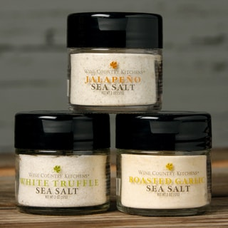Wine Country Kitchen Sea Salt Trio