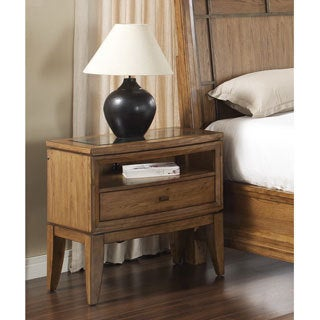 'Toluca Lake' Nightstand with Glass Cover Top