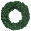 Green Preserved Natural Boxwood Wreath