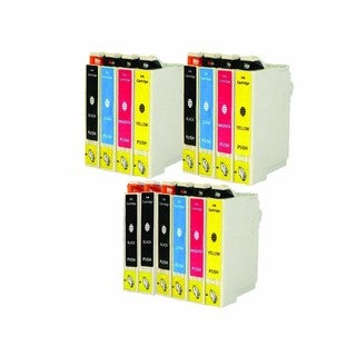 Remanufactured Epson T044 For Epson C64, C66, C84, C86, CX4600, CX6400, CX6600 Ink Cartridge (Pack Of 14 :5K/3C/3M/3Y)