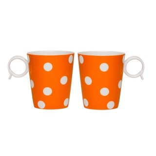 Freshness Dots Orange Mug Set