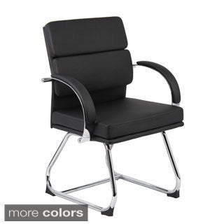 Boss Caressoftplus Executive Series Sled Base Guest Chair