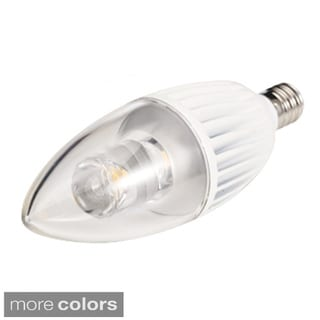 4.5-watt 120-volt B10 Candelabra Base LED Light Bulb