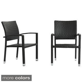 Bella Stackable Dining Chairs (Set of 2)