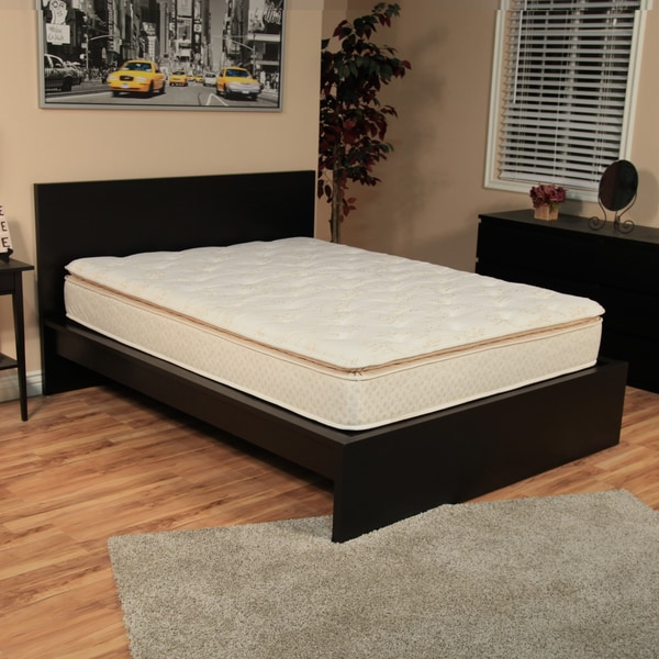 NuForm Quilted Pillow Top 11-inch Short Queen-size RV Foam Mattress