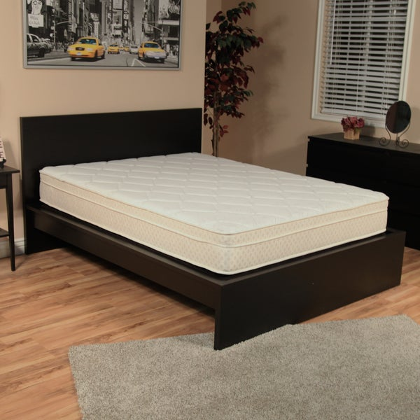 NuForm Quilted Euro Top 9-inch Short Queen-size RV Foam Mattress