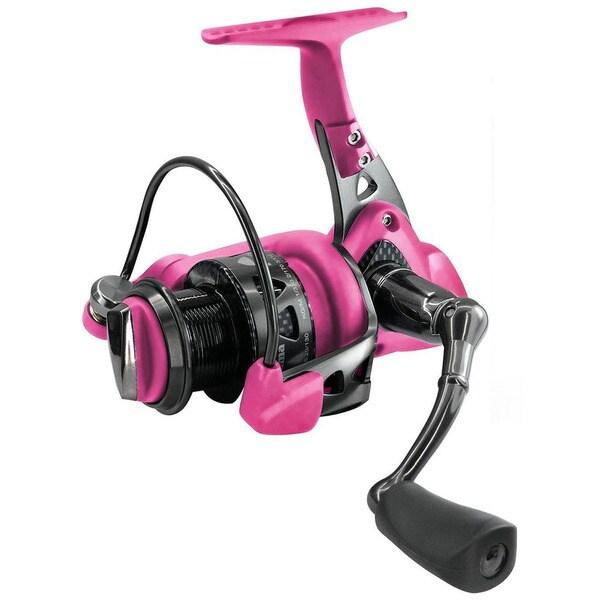 Okuma pink trio spin reel 9 1bb 5 0 1 16146373 for Pink fishing reel
