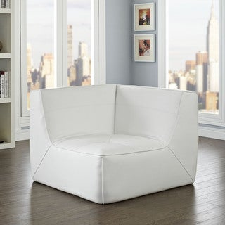 Modway Align Leather Corner Sofa