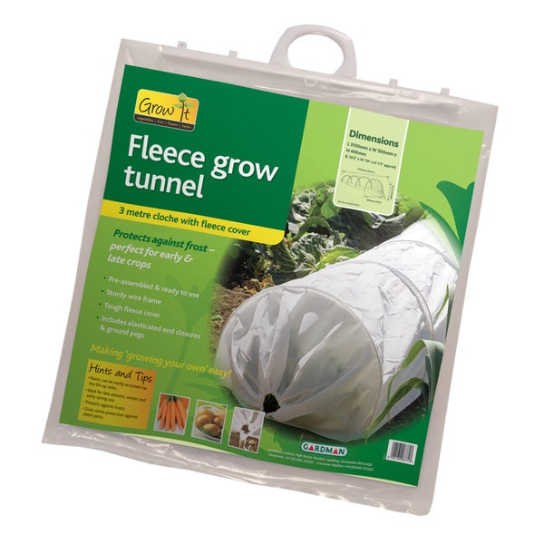 Fleece Frost Protection Grow Tunnel