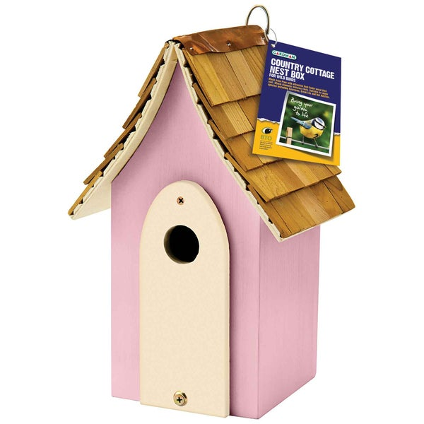 Country Cottage Pink Nest Box