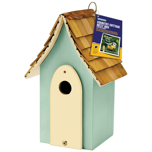 Country Cottage Green Nest Box