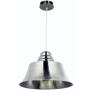 Benton Brushed Stainless Steel 1-light Pendant