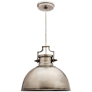 Camden Antique Nickel 1-light Dome Pendant