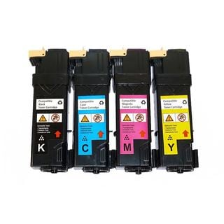 Compatible Xerox Phaser 6130 Set of 106R01281 106R01278 106R01279 106R01280 Toner Cartridges (Pack Of 4 :1K/1C/1M/1Y)