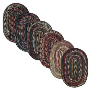 Aurora Reversible Braided Accent Rug (6' x 9')