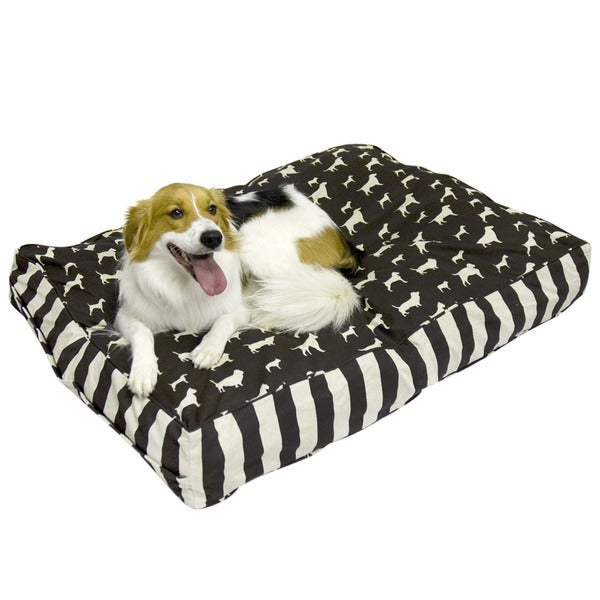 Buster Chocolate Dog Bed