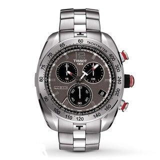 Tissot Men's T0764171106700 330 Chronograph Anthracite Dial Watch
