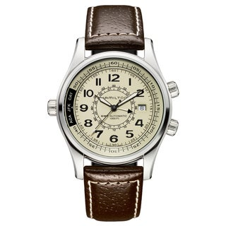 Hamilton Men's Stainless Steel Khaki Dial Automatic Watch