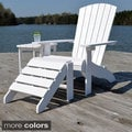 Hatteras Adirondack 3-piece Outdoor Patio Set