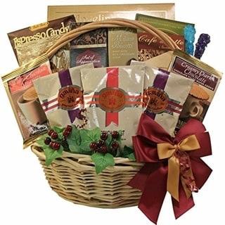 Cafe Gourmet Premium Coffee/ Snacks Gift Basket 12718830