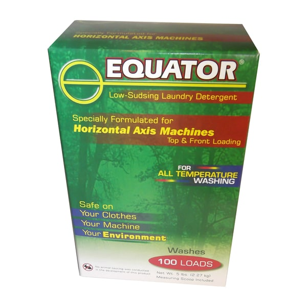 Equator High-efficiency 5-pound Laundry Detergent 12718853