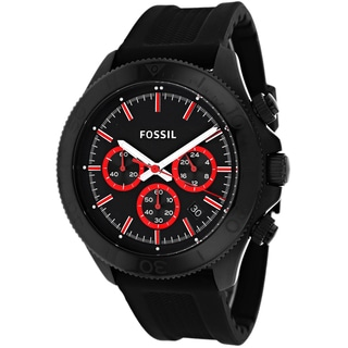 Fossil Men's CH2874 Retro Traveler Chronograph Silicone Watch