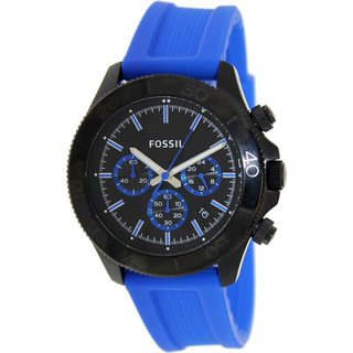 Fossil Men's Retro Traveler Chronograph Silicone Watch