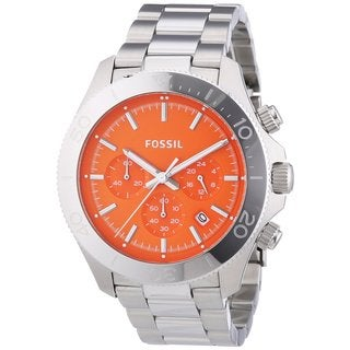 Fossil Men's CH2868 Retro Traveler Chronograph Stainless Steel Watch