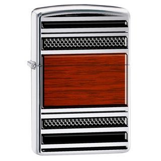 Zippo Steel & Wood Pipe Lighter