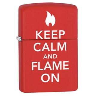 Zippo Keep Calm & Flame On Lighter