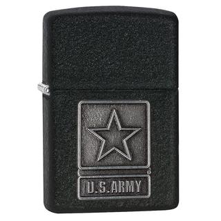 Zippo U.S. Army Pewter Emblem Lighter