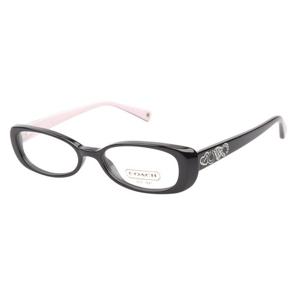 Coach 6016 Saige 5053 Black Prescription Eyeglasses