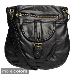 Bueno Buckle Accent Crossbody Bag