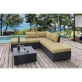 Andover 6-piece Corner Sectional Set - Sunbrella Fabric