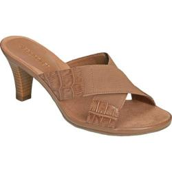 Women's Aerosoles Love Powem Natural Croco/Elastic